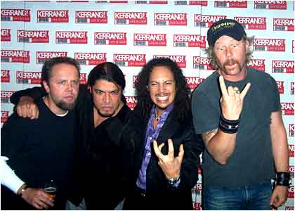 Metallica nominados para el Rock and Roll Hall of Fame 