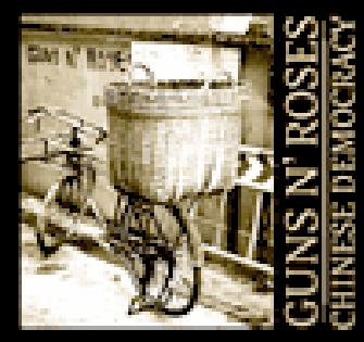 Lista de canciones de Chinese Democracy
