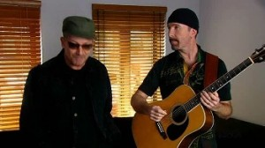 Bono y The Edge tocan junto a BB King