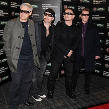 U2 ya graba su próximo video clip