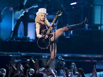 "Madonna reanuda su gira ""Sticky and Sweet"" por Europa"