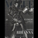 Rihanna hace top less en la portada de Vogue