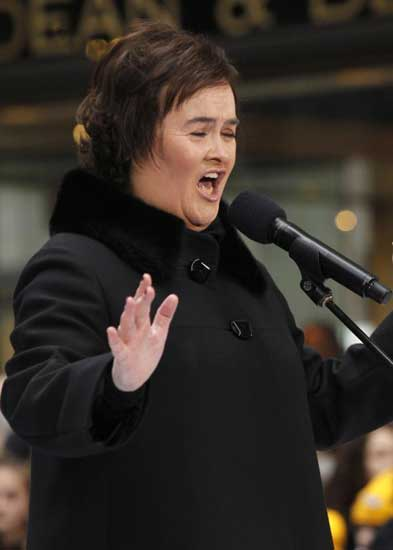 Susan Boyle estar en el Festival de San Remo 