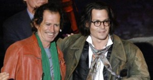 Johnny Depp piensa llevar al cine la vida de Keith Richards