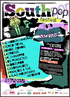 Cartel South Pop Festival 2010