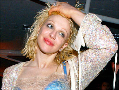 Courtney Love borracha y desnuda
