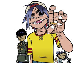 Gorillaz lanzó álbum 'The Fall' gratuito grabado en iPad