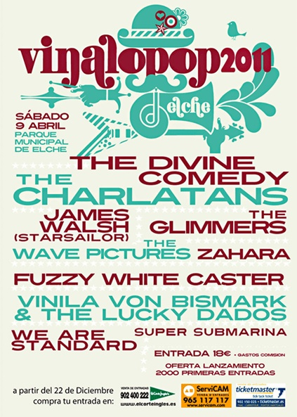 Cartel Festival Vinalopop 2011 