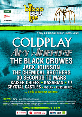 30 Seconds To Mars, Kasabian, MClan, !!!  y Kaiser Chierfs se suman al BBK Live 2011