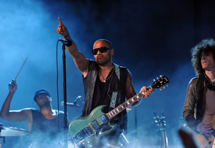 Lenny Kravitz y su nuevo álbum 'Black and White America'