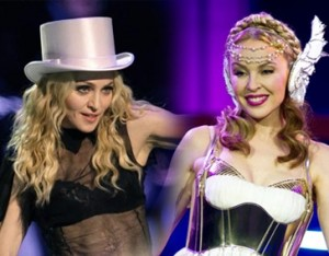 Kylie Minogue desmiente do con Madonna 