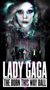 Lady GaGa revela poster de su gira 2012  
