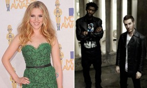 Scarlett Johansson graba con Massive Attack versin de Summertime 