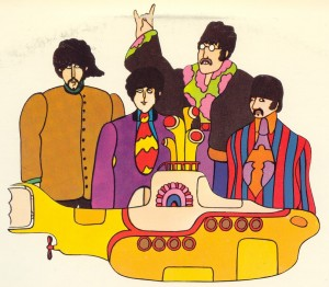 El DVD Yellow Submarine de  The Beatles a la venta el 5 de junio