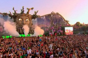 Tomorrowland 2012 transmitido en vivo por Youtube