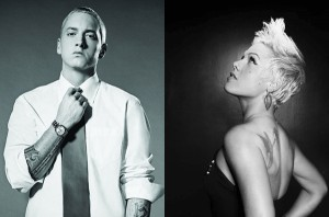 Se desvela online, Here Comes The Weekend, nuevo do entre Pink y Eminem 
