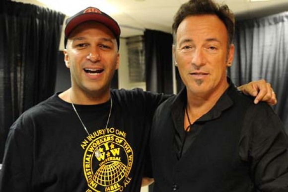 Tom Morello, ahora en la banda de Bruce Springsteen 
