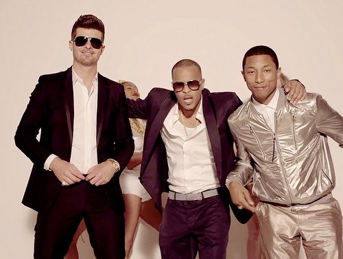Foto de Blurred Lines, el nuevo video de Robin Thicke