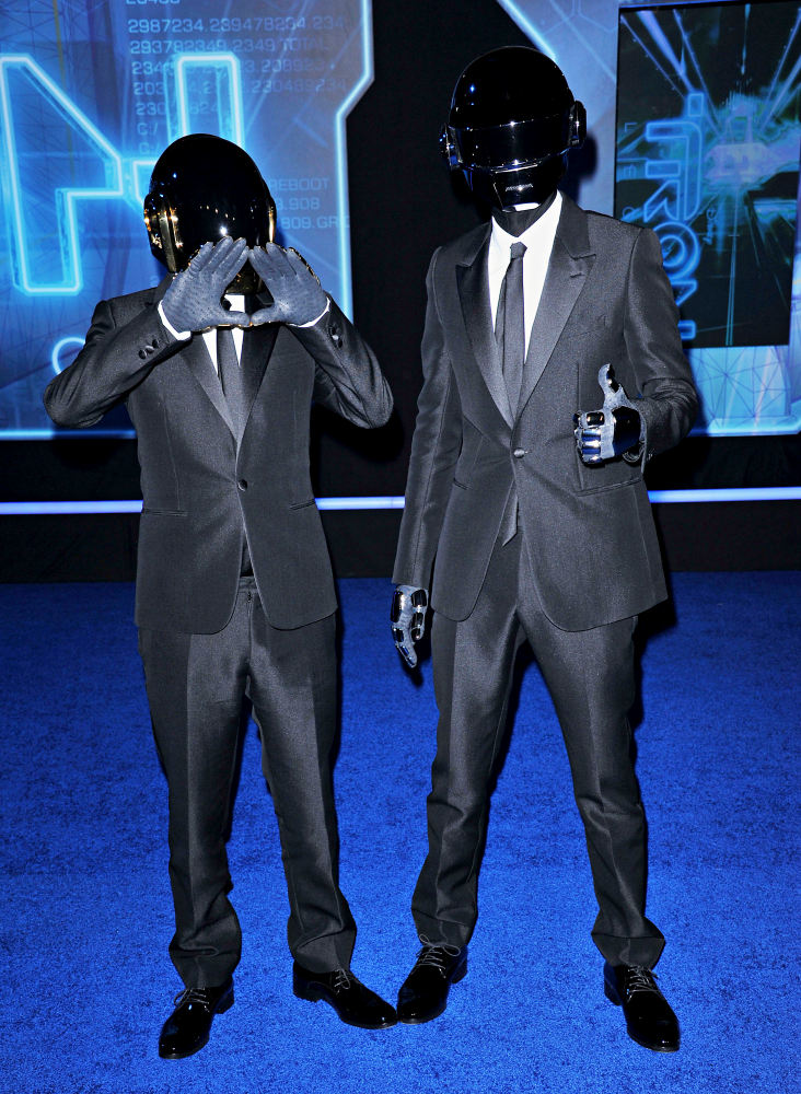 Daft Punk bate récords en Spotify con Get Lucky