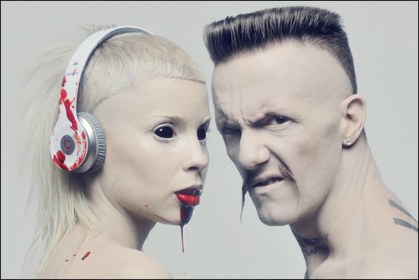 "Die Antwoord lanza extraño video para su sencillo ""Cookie Thumper"""