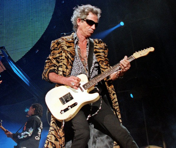 Keith Richards anuncia disco en solitario para 2014