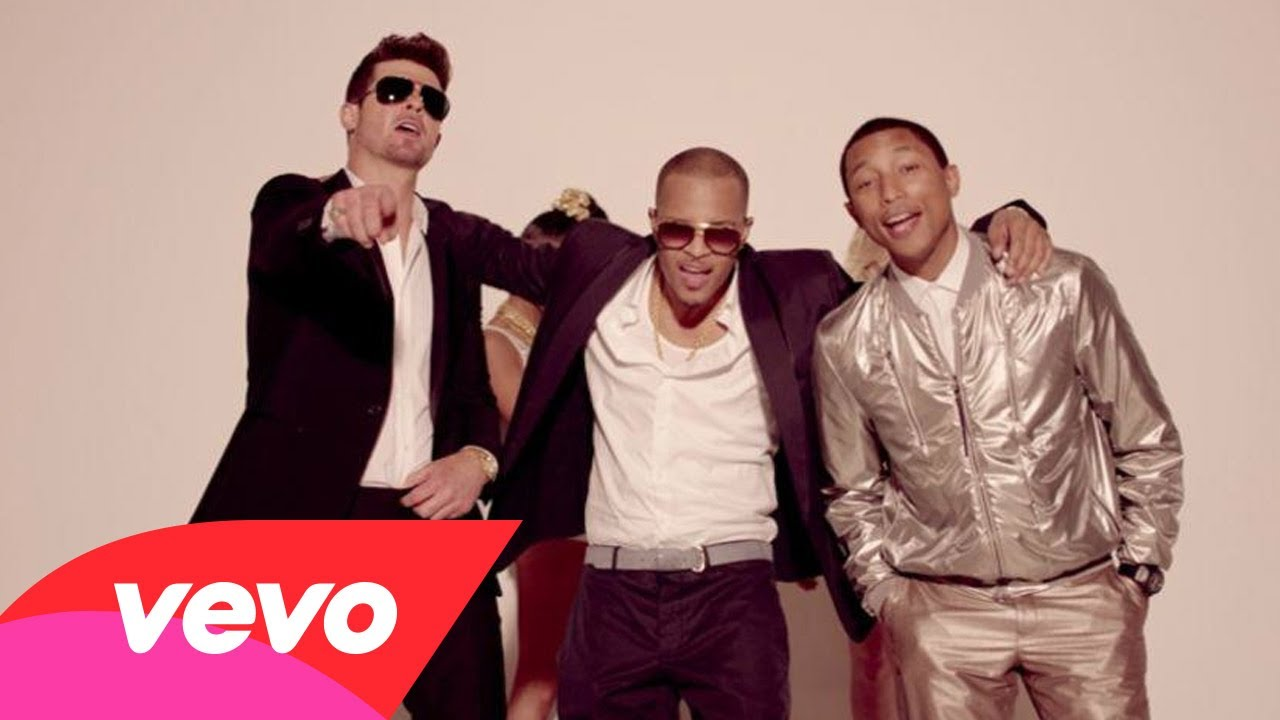 Blurred Lines, el nuevo video de Robin Thicke