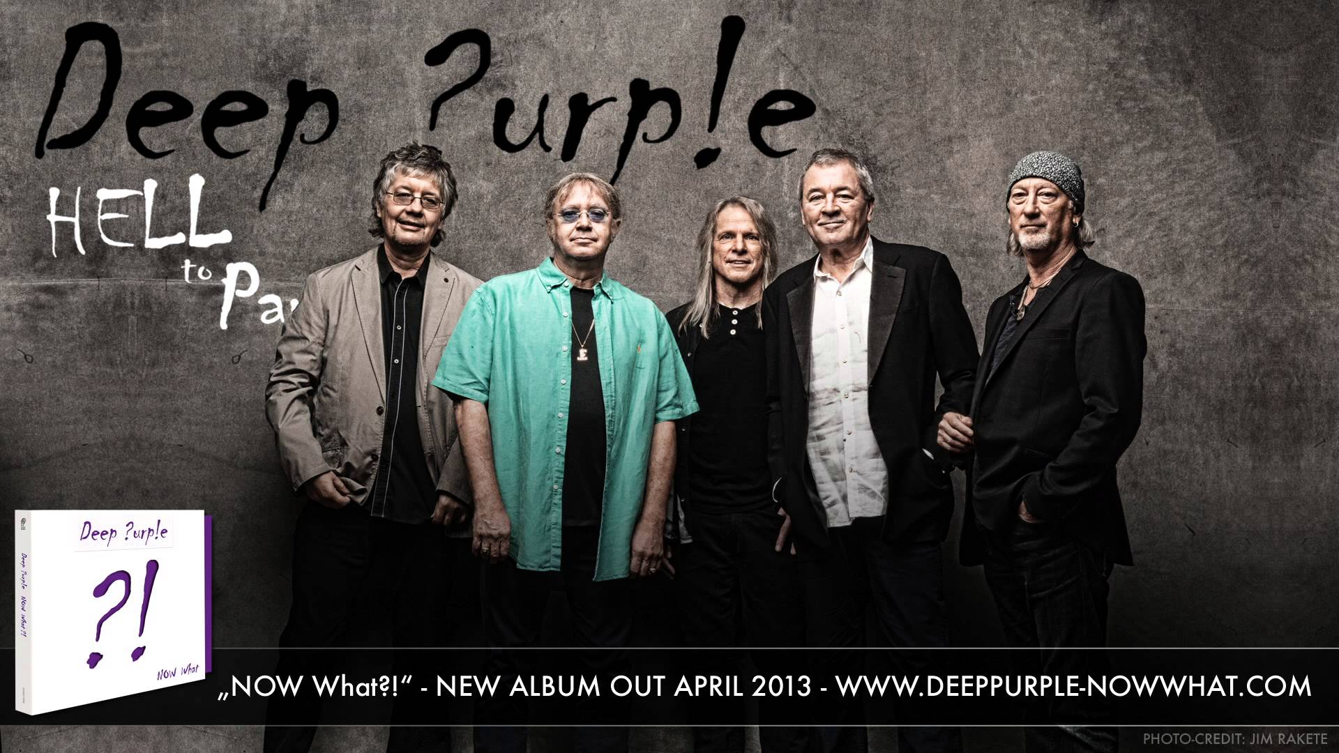 Deep Purple prepara nuevo disco de studio