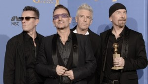 "U2 gana el Globo de Oro  por ""Ordinary Love"""