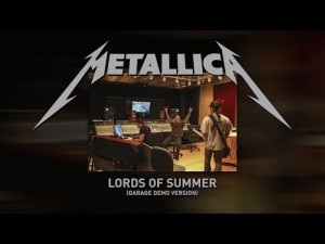 "Metallica lanza versión demo de su nuevo tema ""The Lord of Summer"""