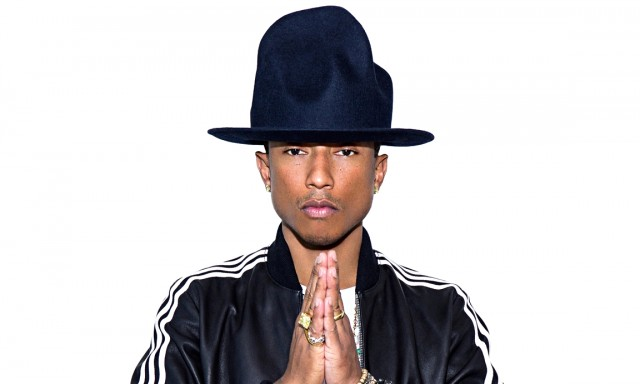 Pharrell Williams in Adidas