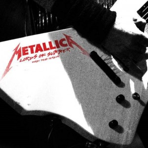 "Metallica comparte versión de estudio de ""Lords of Summer"""