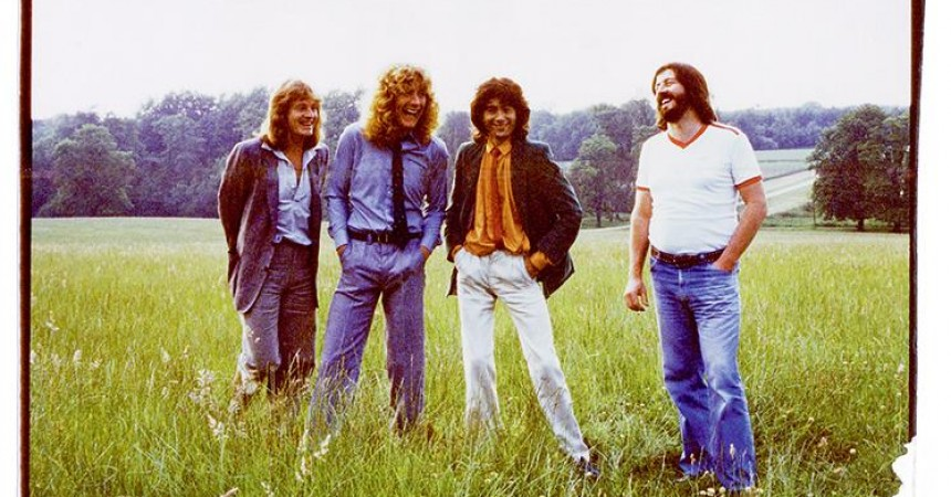 "Escucha una versión inédita del ""When The Levee Breaks"" de Led Zeppelin 1"