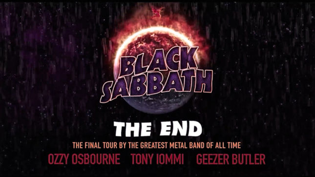 "Black Sabbath anuncian su última gira ""The End"" 1"